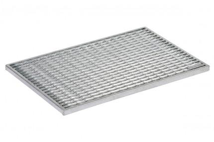Придверная решетка Aco Vario - «Оцинкованное покрытие 75 на 50 см», пр-во Германия.
