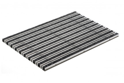 Придверная решетка Aco Vario - «Войлочное покрытие 100 на 50 см - Антрацит», пр-во Германия.