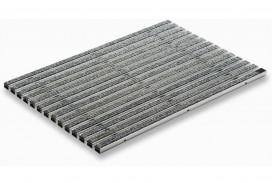 Придверная решетка Aco Vario - «Войлочное покрытие 60 на 40 см - Серый», пр-во Германия.