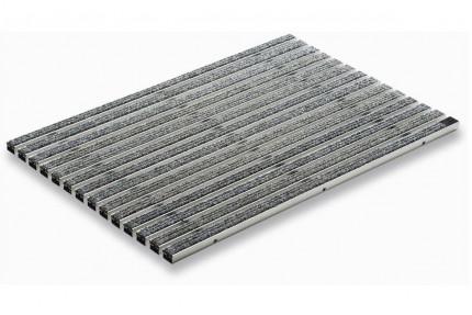 Придверная решетка Aco Vario - «Войлочное покрытие 75 на 50 см - Серый», пр-во Германия.
